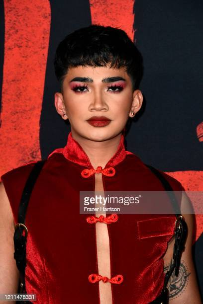 Bretman Rock attends the premiere of Disney's Mulan at Dolby Theatre on March 09 2020 in Hollywood California