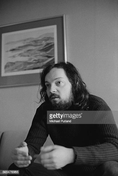 Breton and Celtic singer and harpist Alan Stivell during an interview with Sounds magazine 22nd January 1976
