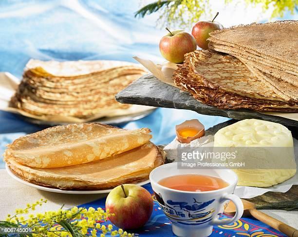 Breton pancakes