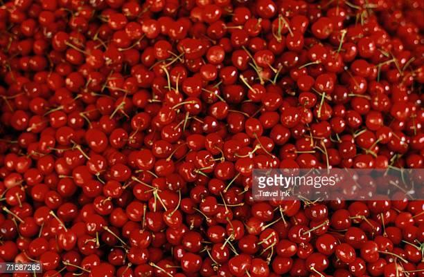 Breton Red Cherries - Full Frame
