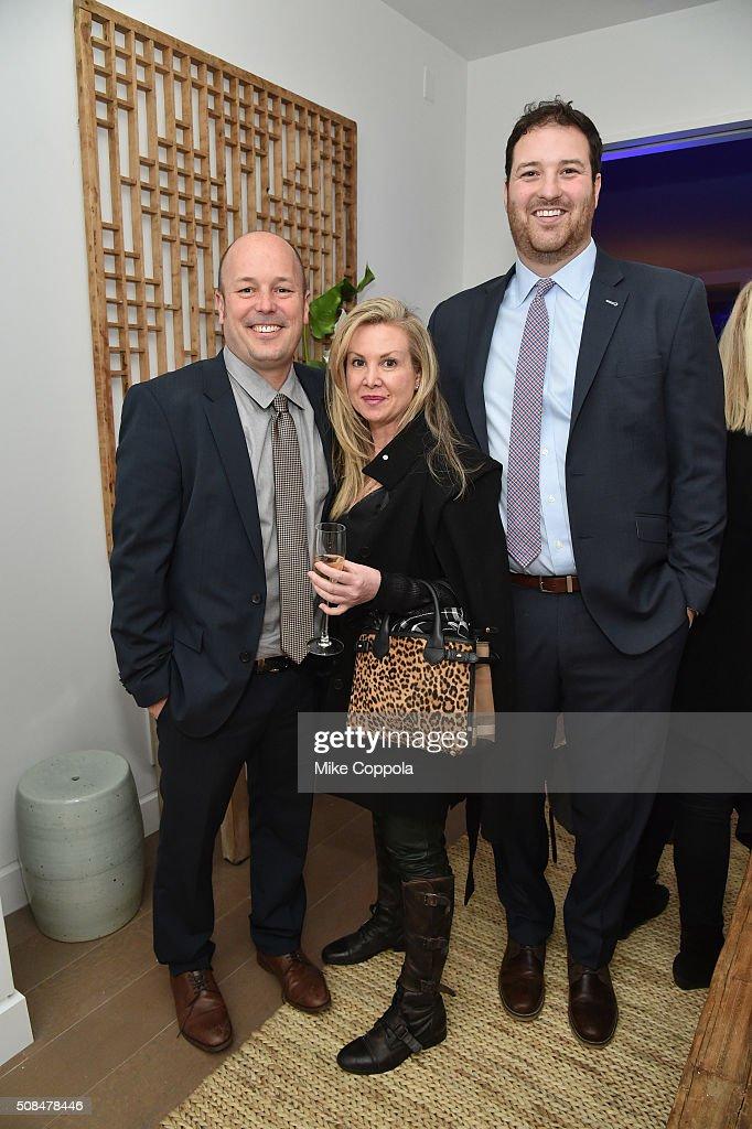 Brett Baer attends Meridith Baer Home And Morgan Stanley