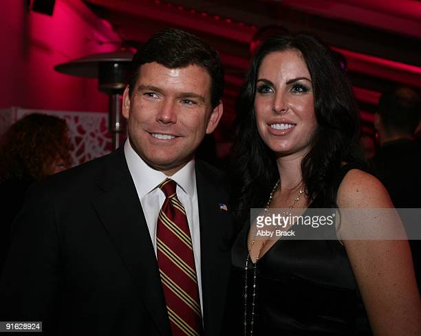 Brett Baier and Amy Baier attend the grand opening of the W Washington DC on October 8 2009 in Washington DC