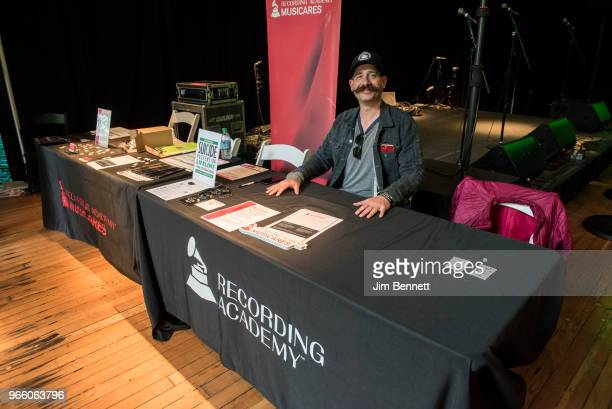 Brett Bryngelson represents MusiCares during the Upstream Music Conference on June 1 2018 in Seattle Washington
