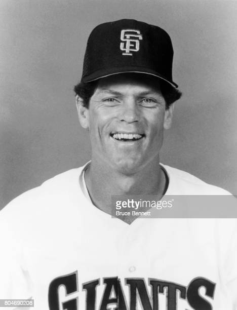 Brett Butler of the San Francisco Giants poses for a portrait during Spring Training circa March 1989 in Scottsdale Arizona