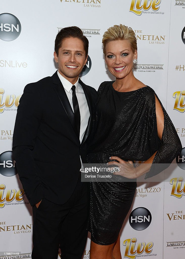 Brett Chukerman and Callie Northagen arrive at HSN Live