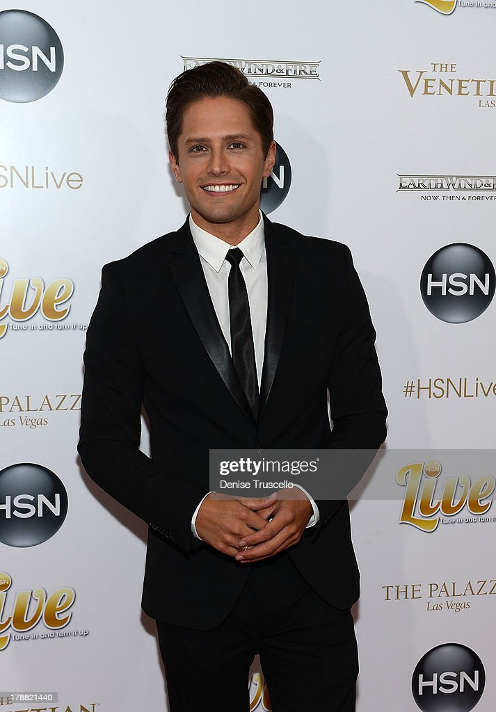 Brett Chukerman arrives at HSN Live broadcast special