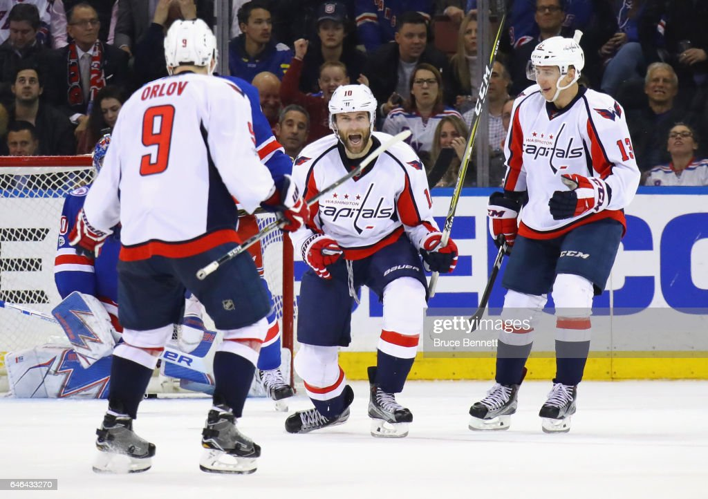 Washington Capitals v New York Rangers