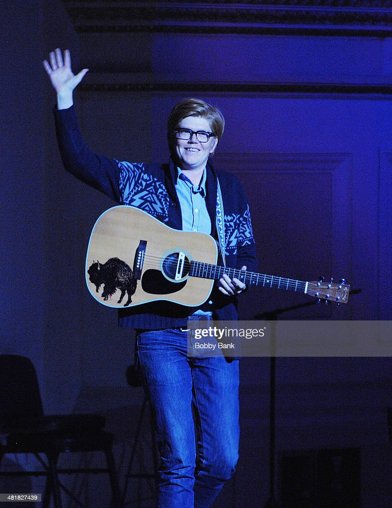 Brett Dennen attends The Music of Paul Simon at Carnegie Hall on March 31, 2014 in New York City.