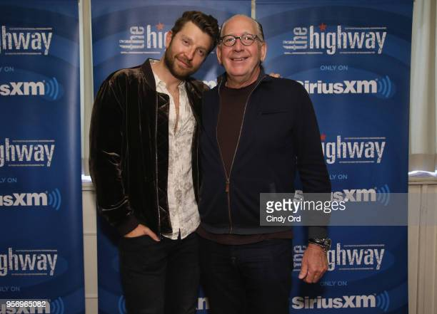 Brett Eldredge performs on SiriusXM's The Highway channel at Patsy's Italian Restaurant on May 7 2018 in New York City