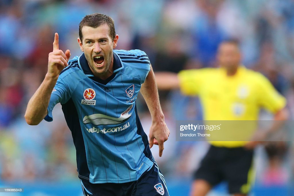 A-League Rd 16- Sydney v Heart