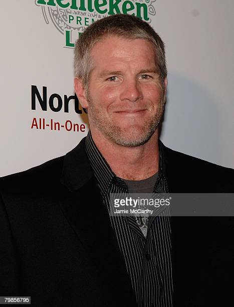 Brett Farve arrives at The Sports Illustrated Sportsman Of The Year Awards at Skylight Studios in New York December 42007