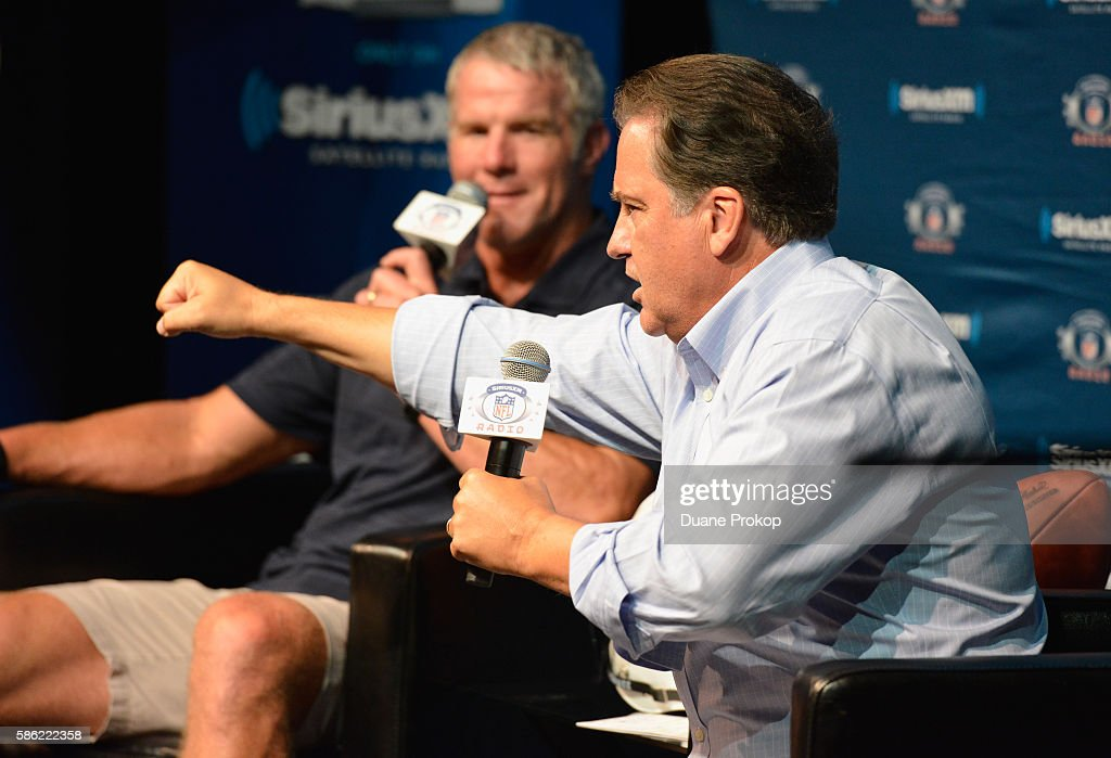 SiriusXM's Town Hall With Brett Favre, From Pro Football Hall Of Fame In Canton, OH, Hosted By Steve Mariucci