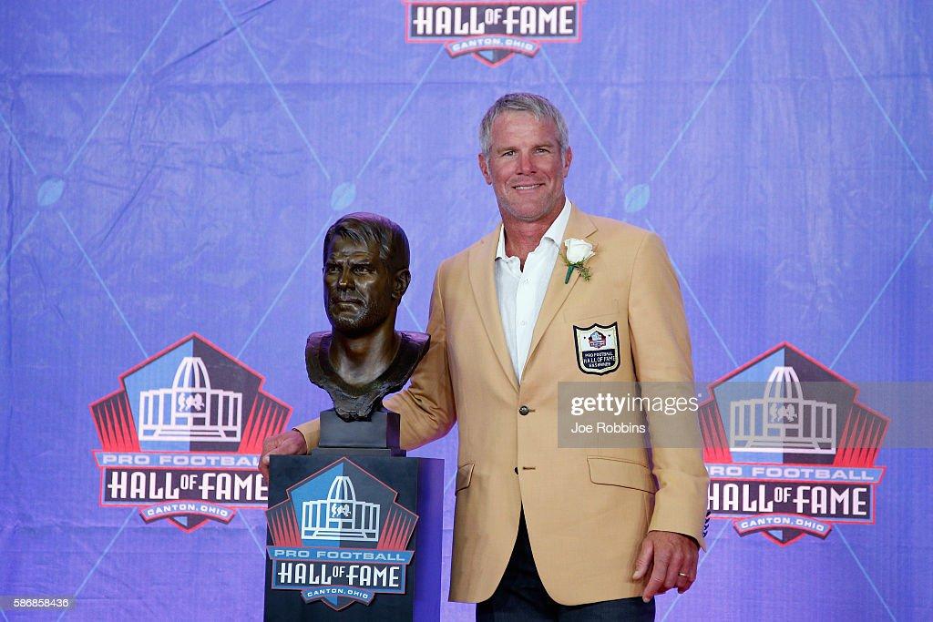 NFL Hall of Fame Enshrinement : ニュース写真