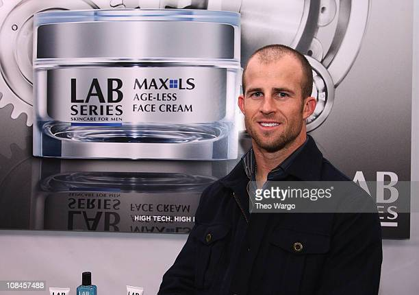 Brett Gardner of the New York Yankees attends the Lab Series Skincare For Men First Ever New York PopUp Store launch at Lab Series Skincare For Men...