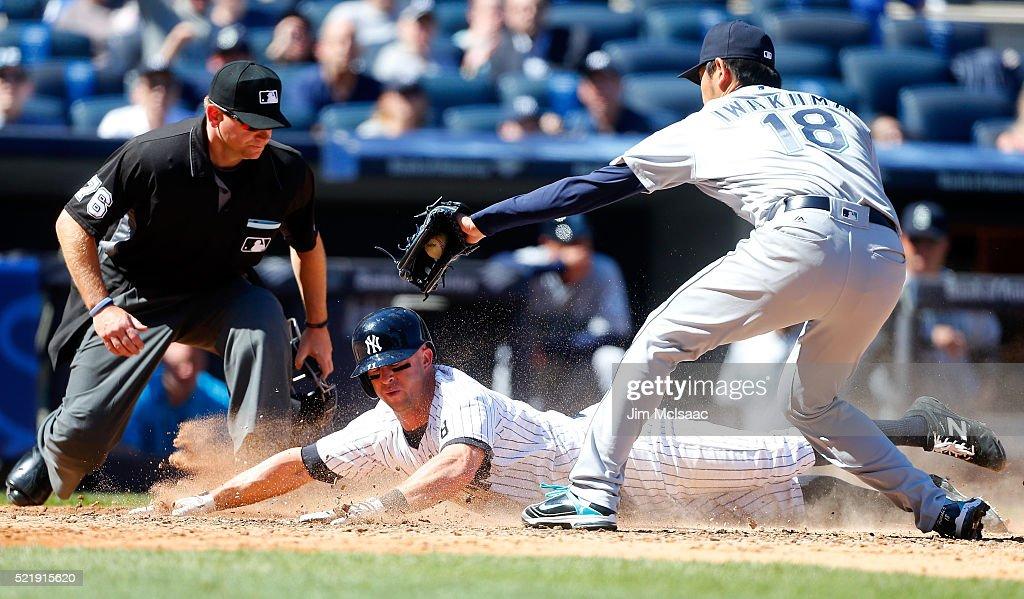 Seattle Mariners v New York Yankees : News Photo