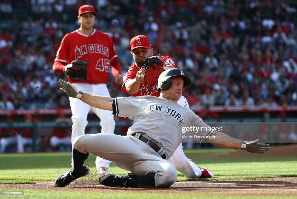 New York Yankees v Los Angeles Angels of Anaheim