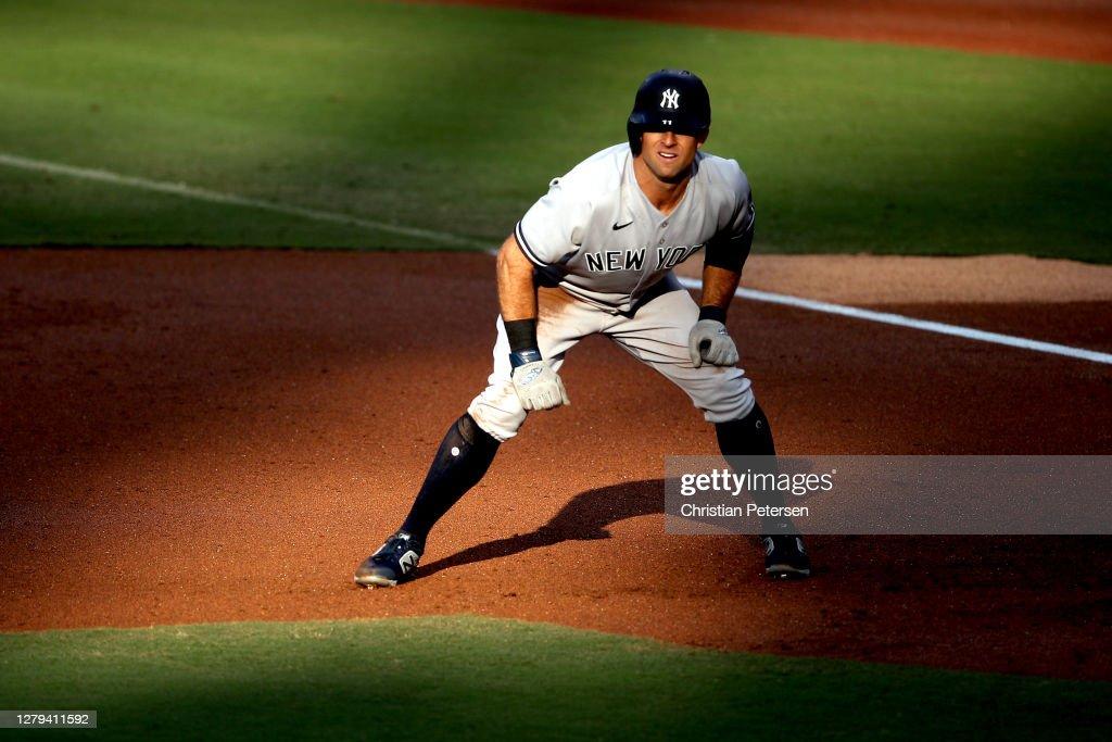 Division Series - New York Yankees v Tampa Bay Rays - Game Five : News Photo