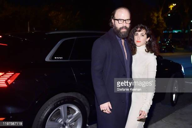 Brett Gelman and guest attend Vanity Fair Amazon Studios and Audi Celebrate the 2020 Awards Season on January 04 2020 in Los Angeles California