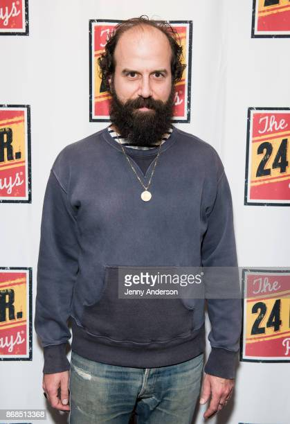 Brett Gelman attends 24 Hour Plays on Broadway at American Airlines Theatre on October 30 2017 in New York City