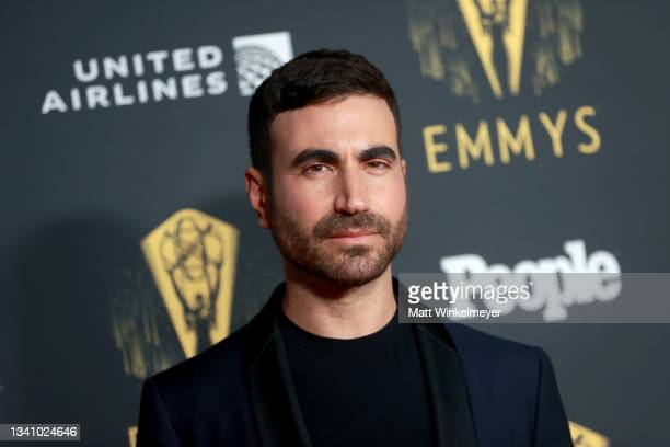 Brett Goldstein attends the Television Academy's Reception to Honor 73rd Emmy Award Nominees at Television Academy on September 17, 2021 in Los...