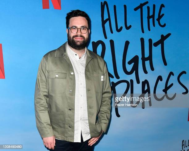 Brett Haley attends the Special Screening of Netflix's All The Bright Places at ArcLight Hollywood on February 24 2020 in Hollywood California