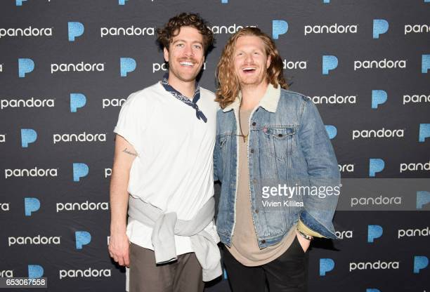 Brett Hite and James Sunderland of FRENSHIP attend Pandora at SXSW 2017 on March 13 2017 in Austin Texas