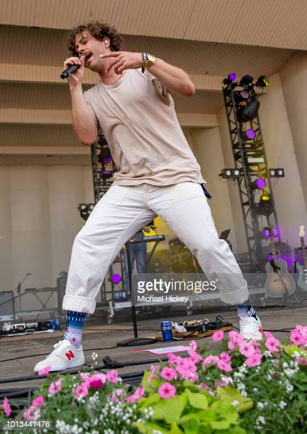 Brett Hite of Frenship peforms on day four of Lollapalooza at Grant Park on August 5 2018 in Chicago Illinois