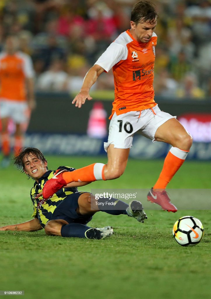 A-League Rd 18 - Central Coast v Brisbane