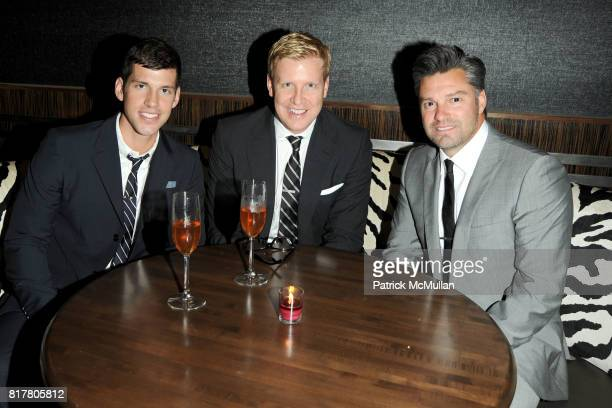 Brett James Michael Mendenhall Greg Barnes attend the GQ Gentlemen's Ball at Edison Ballroom on October 27 2010 in New York City