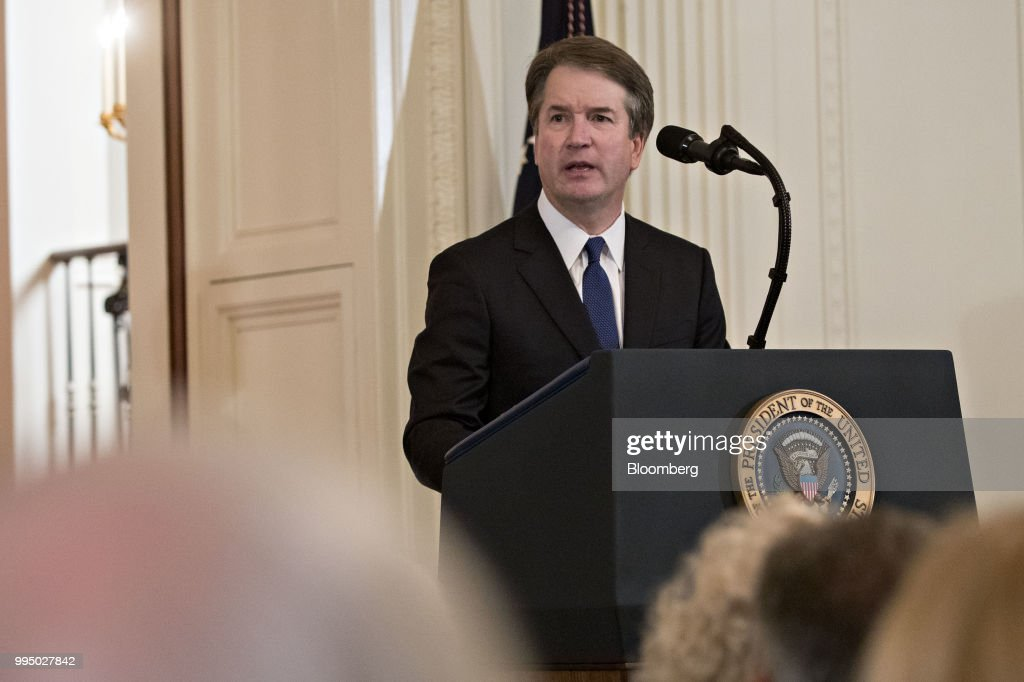 President Trump Announces His Supreme Court Justice Replacement : News Photo