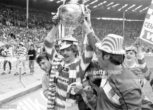 Brett Kenny, Wigan 28-24 Hull, Rugby League, Challenge Cup Final, Wembley Stadium, London, Saturday 4th May 1985.