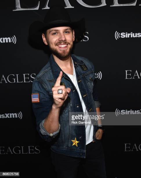 Brett Kissel attends SiriusXM presents the Eagles in their first ever concert at the Grand Ole Opry House on October 29 2017 in Nashville Tennessee
