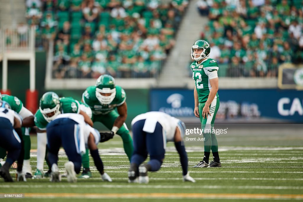 Toronto Argonauts v Saskatchewan Roughriders : News Photo