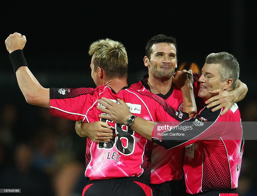 Big Bash League Semi Final - Hobart v Sydney