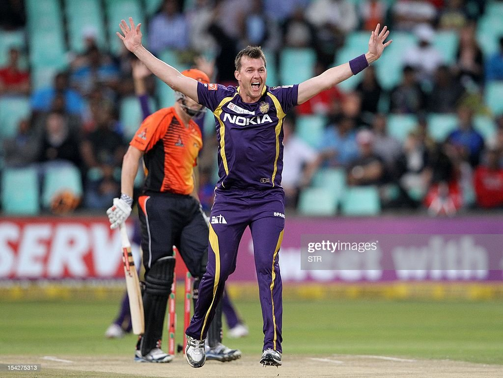 CRICKET-RSA-CLT20-KOLKATA-KNIGHT-RIDERS-PERTH-SCORCHERS : News Photo