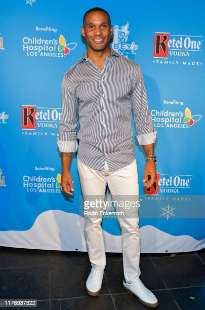 Brett Lockett attends the Children's Hospital of Los Angeles Christmas In September Toy Drive at The Abbey on September 24 2019 in West Hollywood...