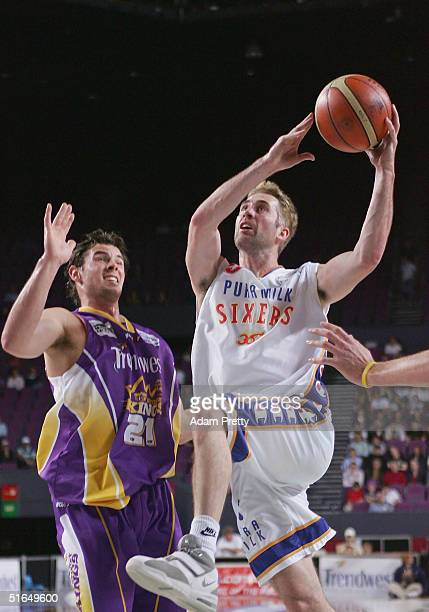 Brett Maher of the 36ers in action during the NBL Basketball match between the Sydney Kings and the Adelaide 36ers at the Sydney Entertainment Centre...