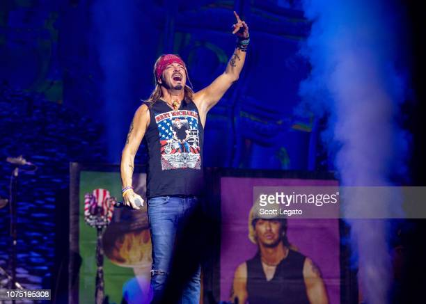 Brett Michaels performs at The Soundboard Motor City Casino on December 26 2018 in Detroit Michigan