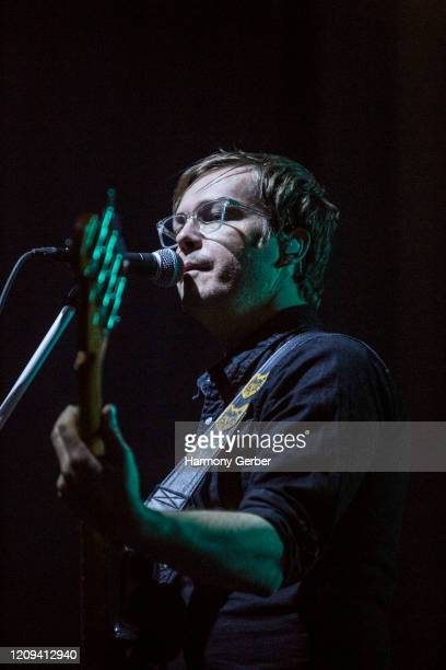 Brett Mielke of the band Best Coast Performs At The Novo at The Novo by Microsoft on February 28, 2020 in Los Angeles, California.