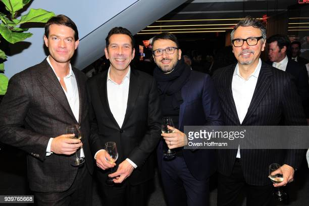 Brett Mitchell Herve Senequier Calli Sarkesh and Manuel Gallegus attend One Hundred East 53rd Street Amenities Premiere Party at 100 East 53rd Street...