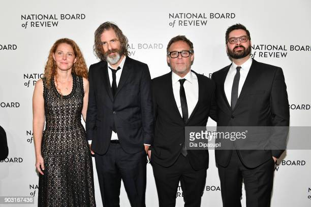 Brett Morgan and guests attend the 2018 National Board of Review Awards Gala at Cipriani 42nd Street on January 9, 2018 in New York City.