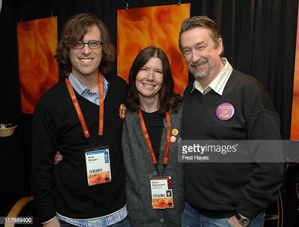 Brett Morgen director of Chicago 10 Diane Weyerman and Geoffrey Gilmore Director of Sundance Film Festival