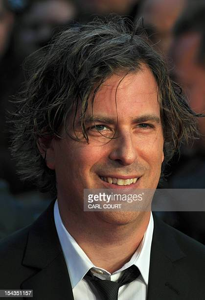 Brett Morgen director of Crossfire Hurricane a documentary about the legendary British rock band The Rolling Stones poses on the Red Carpet as he...
