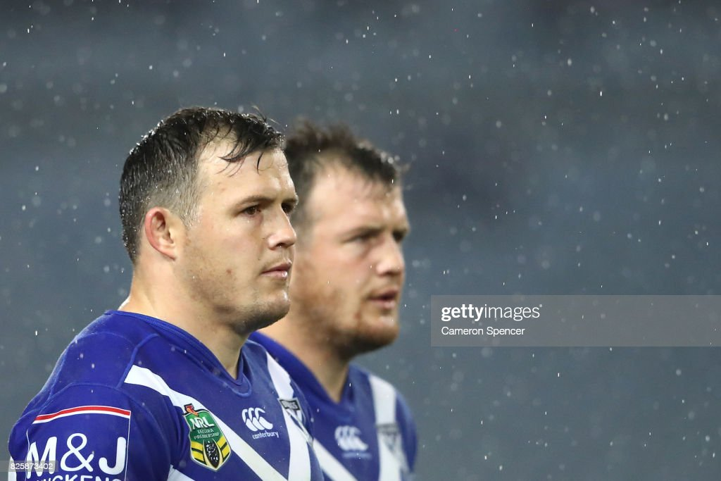 NRL Rd 22 - Bulldogs v Eels : News Photo