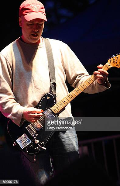 Brett Netson of Built to Spill performs during the 2009 Pitchfork Music Festival at Union Park on July 17 2009 in Chicago Illinois