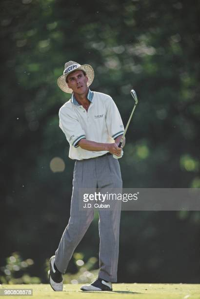 Brett Ogle of the United States during the PGA The Memorial Tournament on 2 June 1995 at the Muirfield Village Golf Club in Dublin Ohio United States