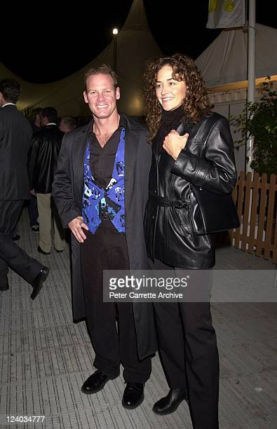 Brett Partridge and Katherine Winnem arrive for the opening night of the Cirque du Soleil production of 'Alegria' under the Grand Chapiteau at Moore...