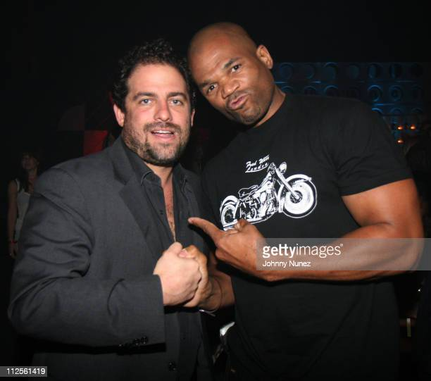 Brett Ratner and Darryl 'DMC' McDaniels at the Hennessy Artistry Finale October 10 2007 at Paramount Studios in Los Angeles California