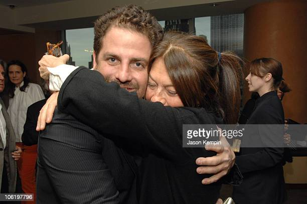 Brett Ratner and Jane Wenner during HBO Documentary Films Screening of Helmut By June April 26 2007 at HBO Theater in New York City New York United...