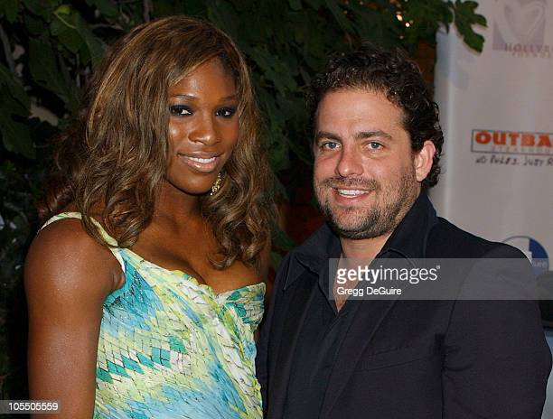 Brett Ratner and Serena Williams during 6th Annual Mercedes-Benz DesignCure at Home of Sugar Ray and Bernadette Leonard in Pacific Palisades,...